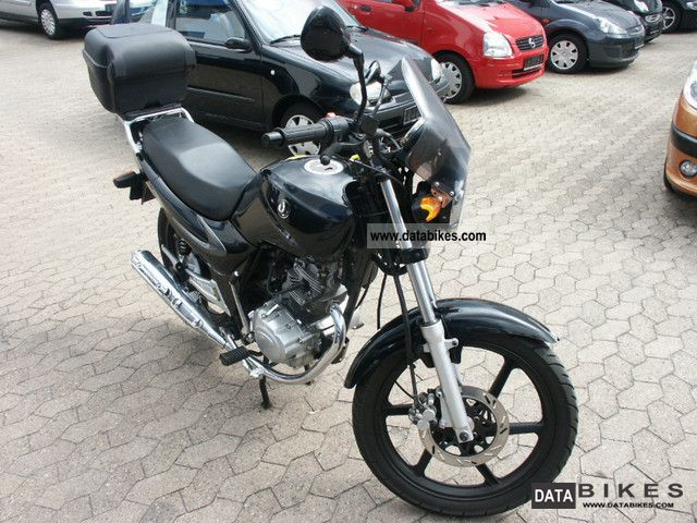 2008 SYM  XS 125-k Motorcycle Lightweight Motorcycle/Motorbike photo