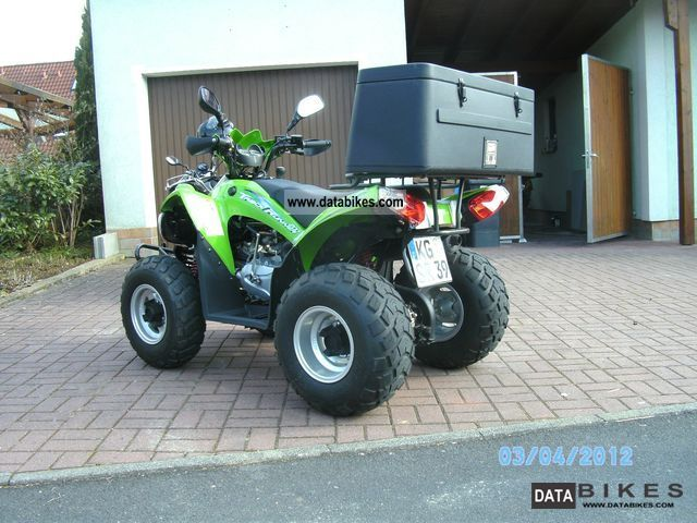2010 SYM  Track Runner 200 Motorcycle Quad photo