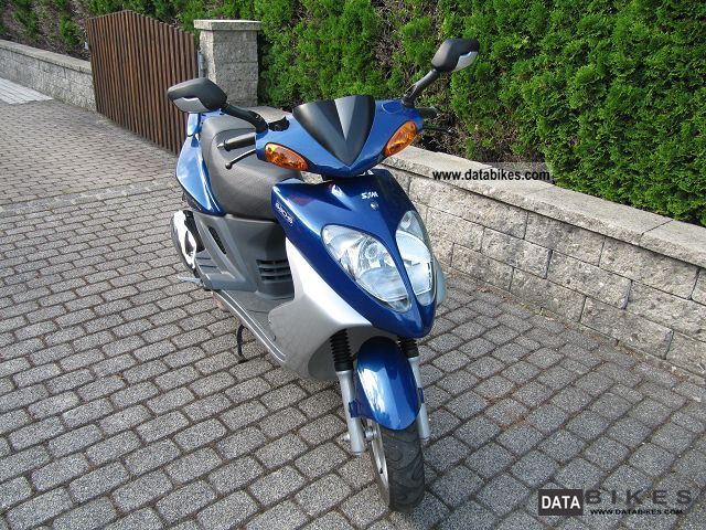 2003 SYM  Shark 125 Motorcycle Lightweight Motorcycle/Motorbike photo