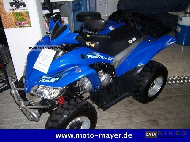 2008 SYM  Track runner 200 Motorcycle Quad photo