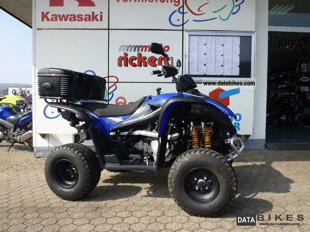 2009 TGB  TARGET 325 CARBO N-BLUE EDITION Motorcycle Quad photo