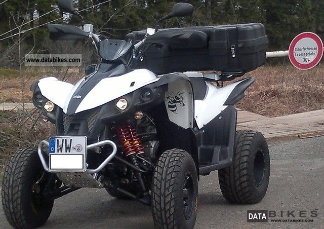 2010 TGB  Target 525 Motorcycle Quad photo