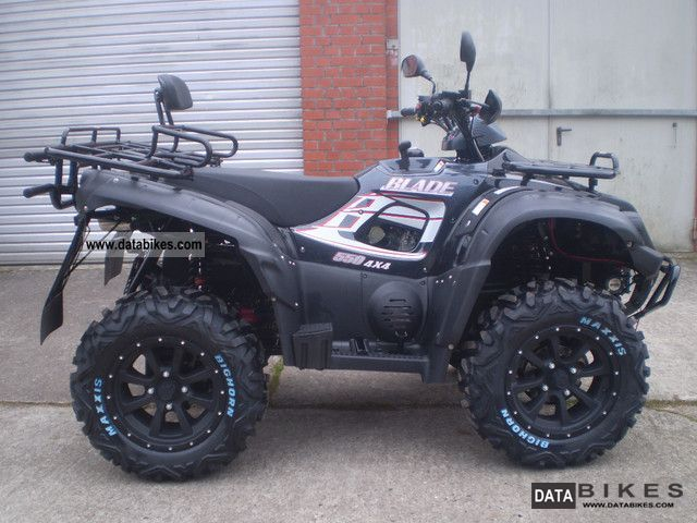 TGB  Blade 550 4x4 LoF 2011 Quad photo