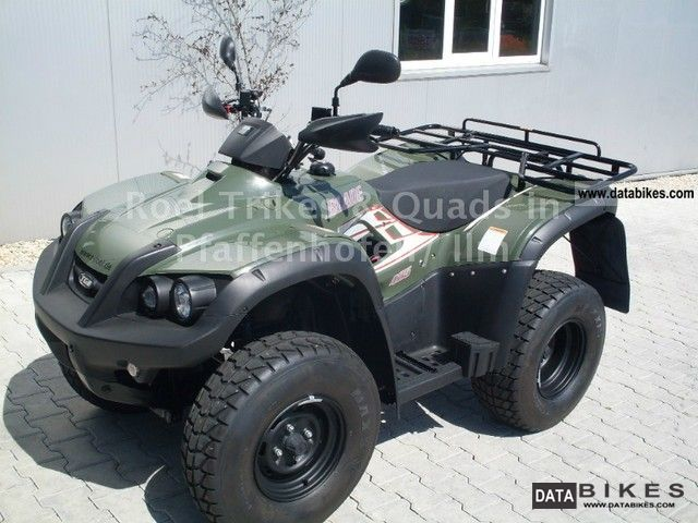 2011 TGB  Blade 425 with T-LOF license Motorcycle Quad photo