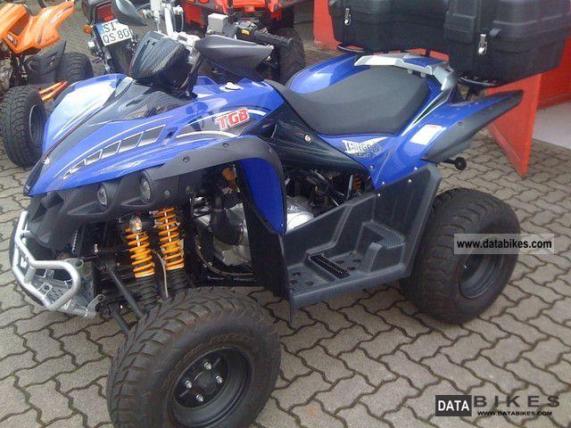 2010 TGB  Target Edition * 325 * Blue Wave Motorcycle Quad photo
