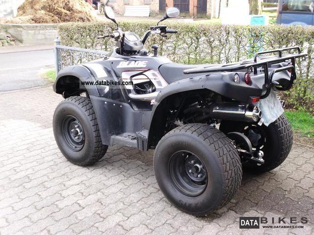 2008 TGB  Blade 250 Quad / ATV Motorcycle Quad photo