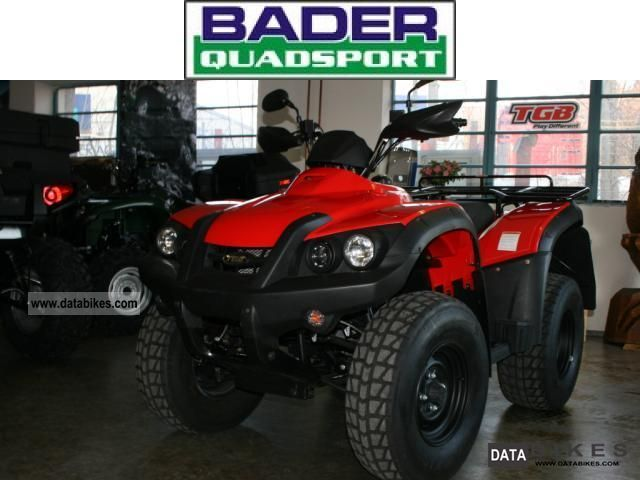 2011 TGB  * 425 * KARDAN BLADE AND REDUCTION * NEW AHK Motorcycle Quad photo
