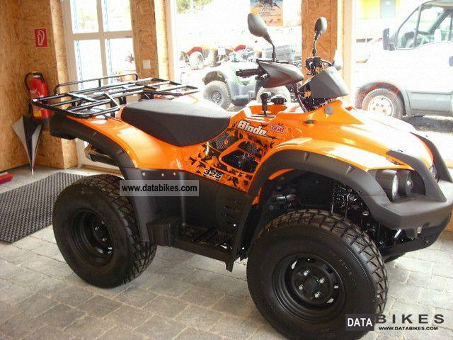 2011 TGB  325 Blade Motorcycle Quad photo