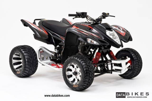 2011 TGB  Beeline 3.3 Bestia 300 Supermoto Motorcycle Quad photo