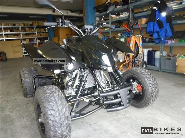 Triton  Supermoto 400 EFI Black Lizard Limited 50! 2011 Quad photo