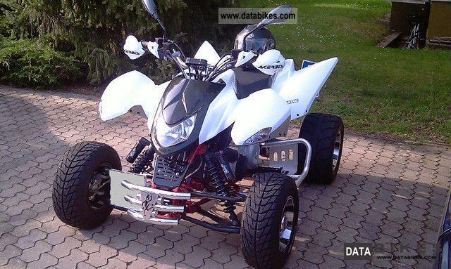2010 Triton  300 cc Supermoto Motorcycle Quad photo