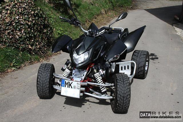2009 Triton  300 Super Moto Carbon Motorcycle Quad photo