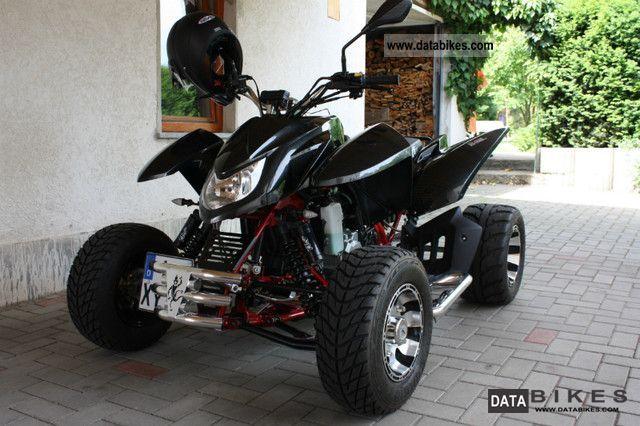 2010 Triton  450 Supermoto Motorcycle Quad photo