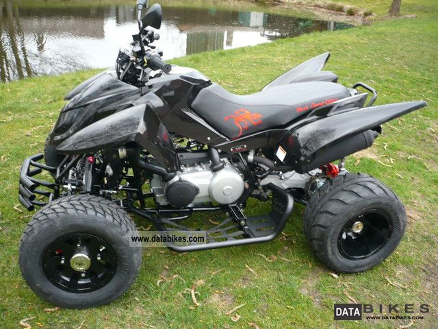 2011 Triton  400 EFI BLACK LIZARD, Special Edition Motorcycle Quad photo