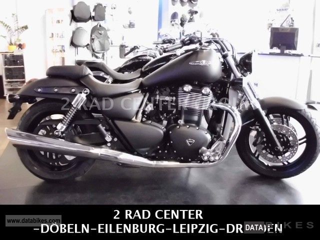 2011 Triumph  Thunderbird Storm ABS / DRESDEN Motorcycle Chopper/Cruiser photo