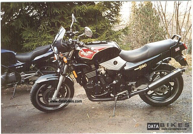 1995 Triumph  Trident 900 Motorcycle Motorcycle photo