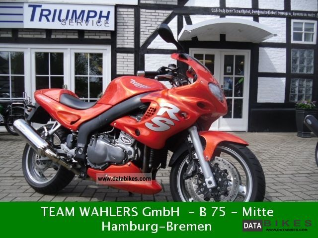 2000 Triumph  Sprint RS Motorcycle Motorcycle photo