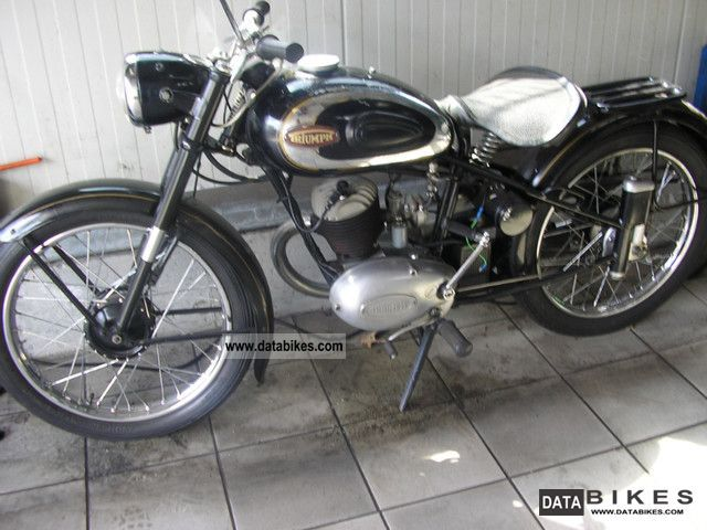 Triumph  BDG 125 1954 Vintage, Classic and Old Bikes photo