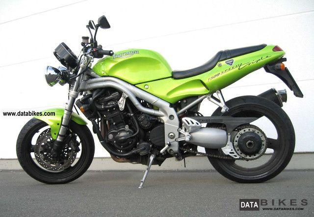 1999 Triumph  Speed Triple T509 Motorcycle Naked Bike photo