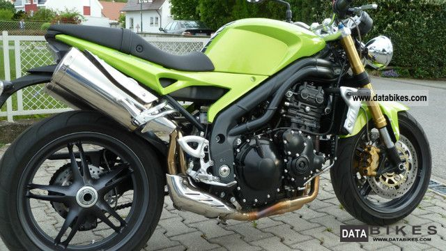 2007 Triumph  speed triple in 1050 Motorcycle Motorcycle photo