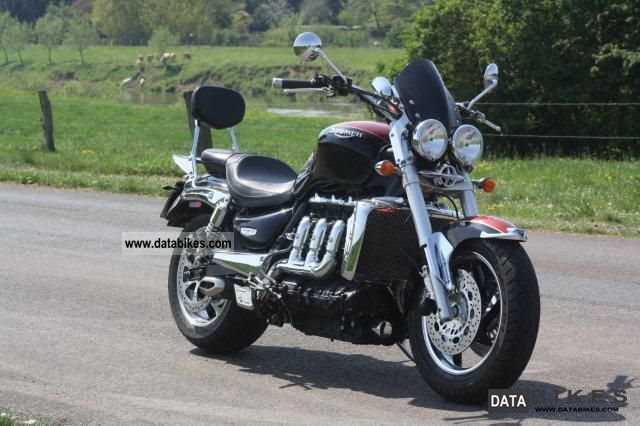 2010 Triumph  Rocket 3 Classic Sport Motorcycle Chopper/Cruiser photo