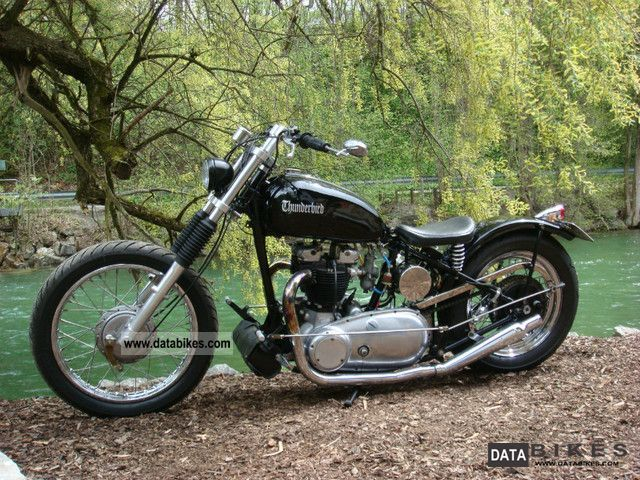 Triumph  Pre Unit rigid frame bobber 1946 Vintage, Classic and Old Bikes photo