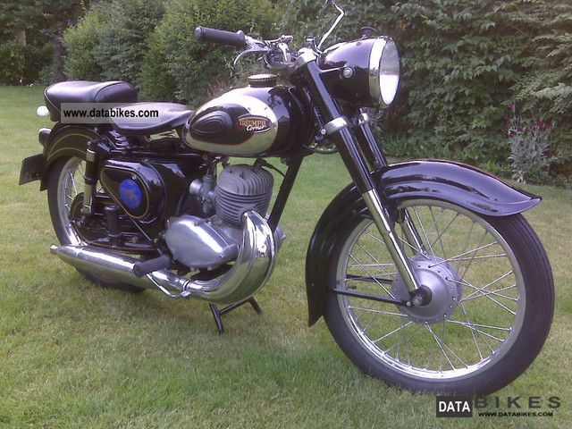 Triumph  Cornet 1953 Vintage, Classic and Old Bikes photo