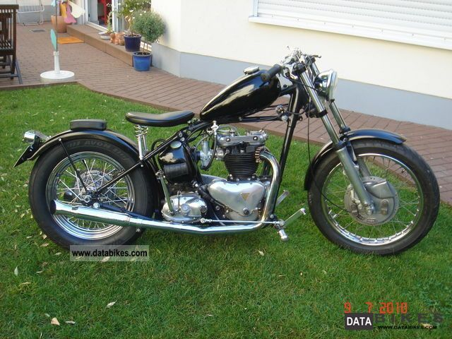 Triumph  6T 1954 Vintage, Classic and Old Bikes photo