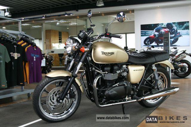 2011 Triumph  Bonneville Motorcycle Motorcycle photo