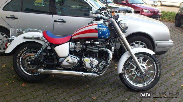 2009 Triumph  America Motorcycle Chopper/Cruiser photo
