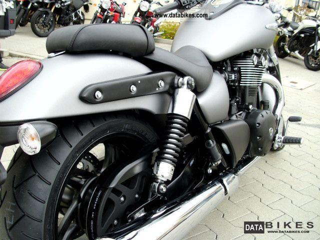 2011 Triumph  Thunderbird Storm 1700 ABS model 2013 Motorcycle Chopper/Cruiser photo