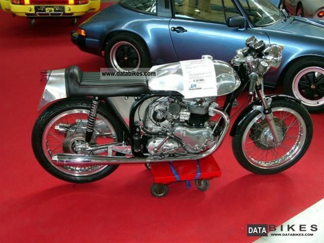 Triumph  Others Triton with Norton Manx frame Kompressora 1973 Vintage, Classic and Old Bikes photo
