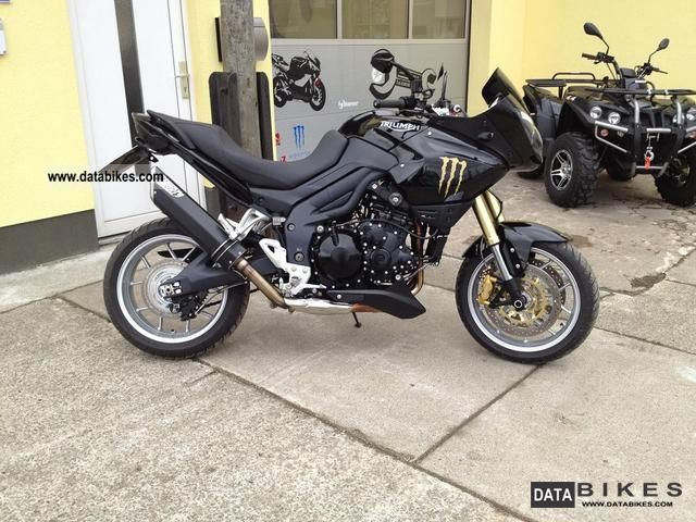 2009 Triumph  Tiger Motorcycle Enduro/Touring Enduro photo
