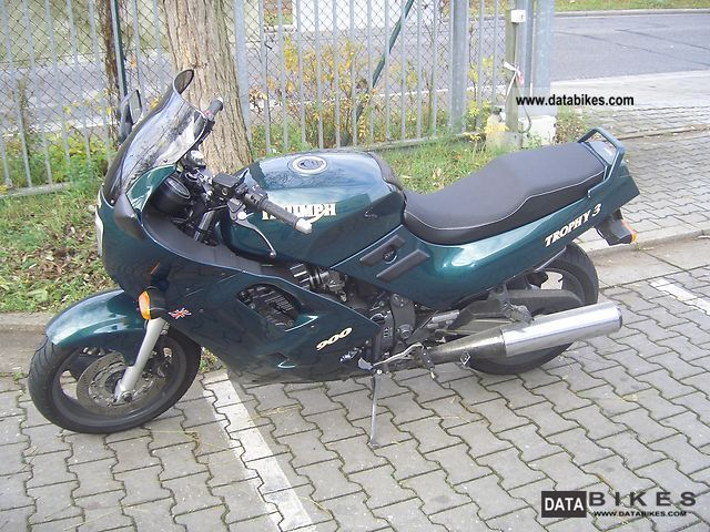 1995 Triumph  Trophy 900 Motorcycle Motorcycle photo