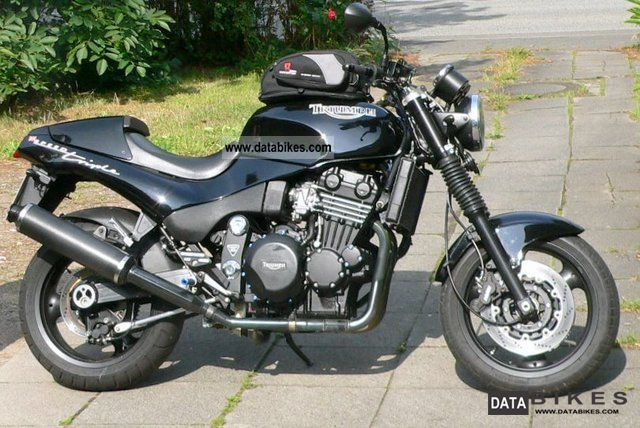 1995 Triumph  Speed Triple T300 Motorcycle Naked Bike photo