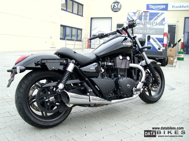 2011 Triumph  Thunderbird Storm 1700 ABS with reconstruction and Accessories Motorcycle Chopper/Cruiser photo