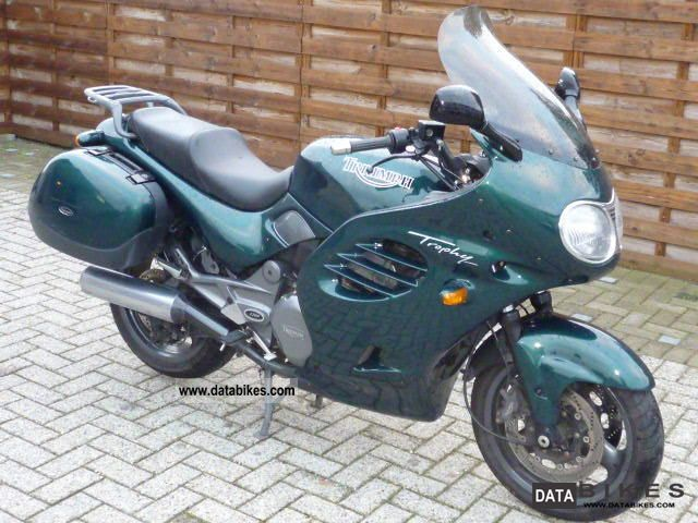 1996 Triumph  trophy in 1200 green suitcases very good condition Motorcycle Tourer photo