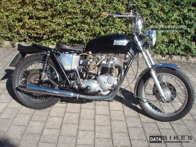 Triumph  Bonneville T 140 E 1979 Vintage, Classic and Old Bikes photo