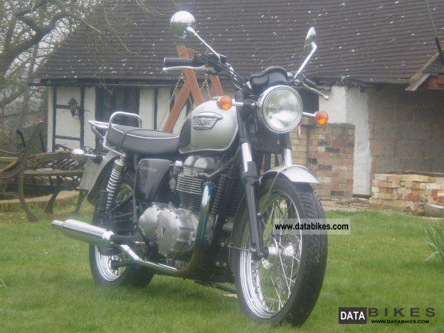 2006 Triumph  Bonneville Motorcycle Motorcycle photo
