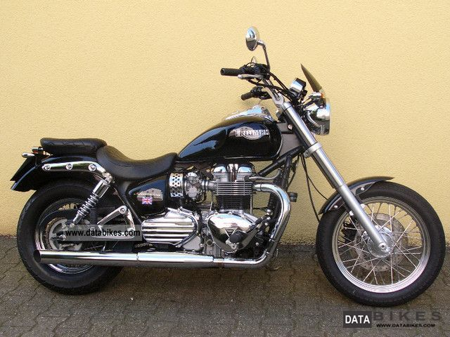2006 Triumph  America --- Wiseco 900cc kit / many extras --- Motorcycle Chopper/Cruiser photo