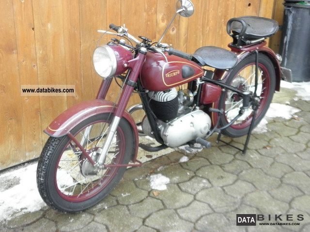 1951 Triumph  BDG 250 Motorcycle Motorcycle photo