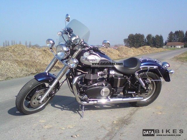 2009 Triumph  Speedmaster 865 EFI Motorcycle Chopper/Cruiser photo