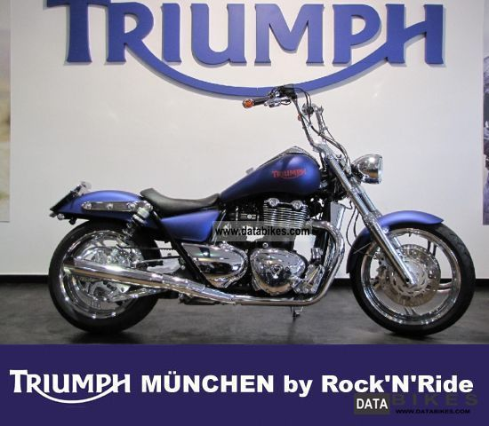 Triumph  Thunderbird cobalt-chromium 2011 Chopper/Cruiser photo