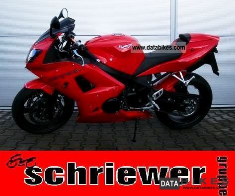 2007 Triumph  Daytona 650 including throttle to 34 hp Motorcycle Motorcycle photo