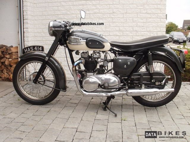 Triumph  Thunderbird 6T \ 1959 Vintage, Classic and Old Bikes photo