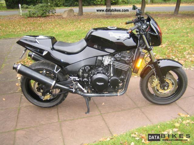 1996 Triumph  Speed Triple 900 Motorcycle Naked Bike photo