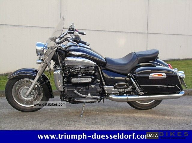 2011 Triumph  Rocket Touring Motorcycle Chopper/Cruiser photo
