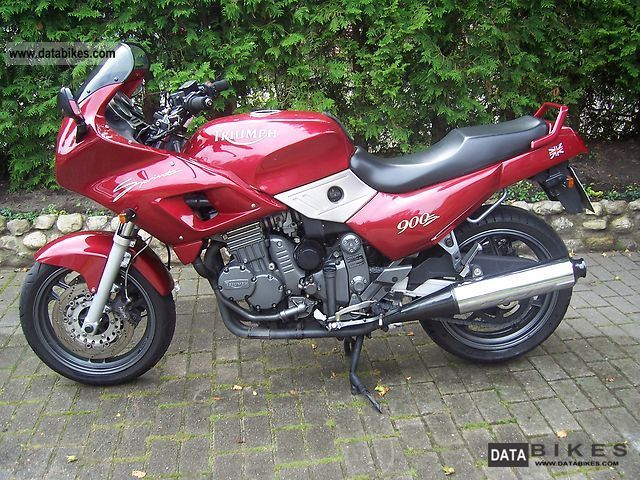 1994 Triumph  Trident 900 Sprint Motorcycle Sport Touring Motorcycles photo