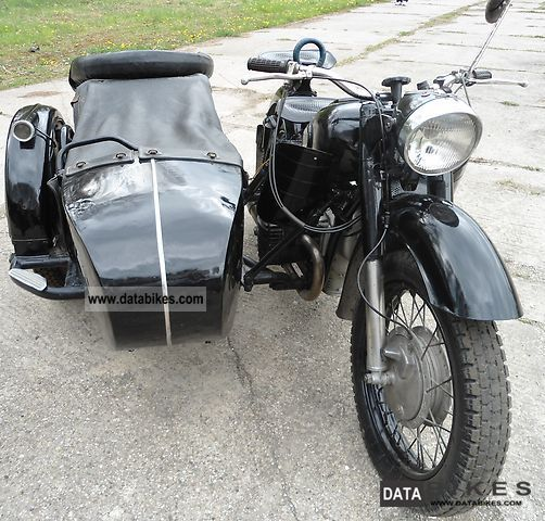 1960 Ural  K-750 Motorcycle Combination/Sidecar photo