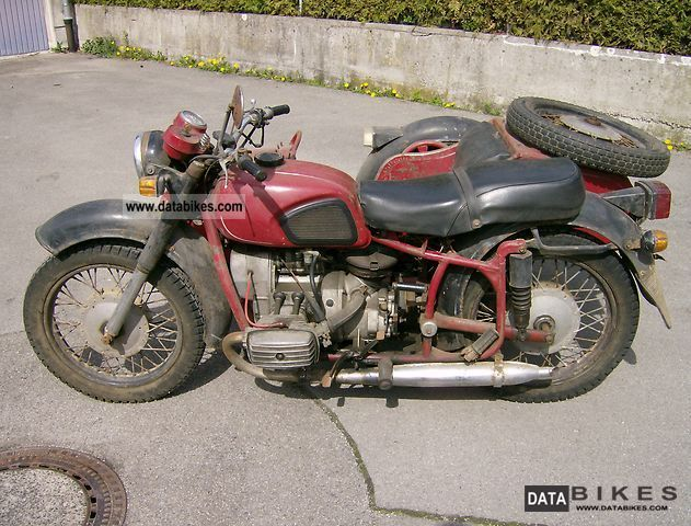 Ural  MT-10 1975 Vintage, Classic and Old Bikes photo
